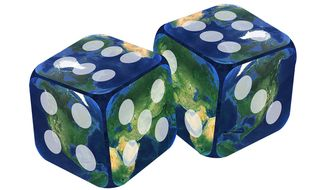 Rolling the Dice Illustration by Greg Groesch/The Washington Times