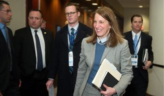 Health and Human Services Secretary Sylvia Mathews Burwell wrote a recent letter to Republican leaders defending the Obamacare subsidies. (Associated Press)