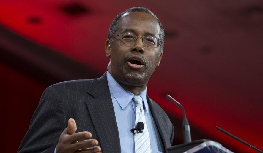 Ben S. Carson, 63, becomes the first in a large group of high-profile Republicans expected to seek a presidential nomination. (Associated Press)
