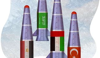A Nuclear-Armed Middle East Illustration by Greg Groesch/The Washington Times