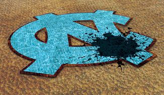 The Tarheels Step on Themselves Illustration by Greg Groesch/The Washington Times