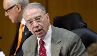 """The FBI's whistleblower process is broken,"" said Senate Judiciary Committee Chairman Chuck Grassley. His committee will dig into such accusations Wednesday, demanding better protections and oversight for those brave enough to come forward. (Associated Press)"