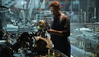 "Robert Downey Jr. returns as Tony Stark in Marvel's ""Avengers: Age Of Ultron,"" which opens May 1. (Marvel)"