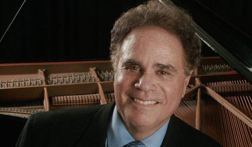 "Pianist Jeffrey Siegel presents his third ""Keyboard Conversation"" on Sunday at George Mason University's Center for the Arts. This program delves into the incomparable brilliance and tortured soul of Franz Liszt through three major works. (Peter Schaaf)"