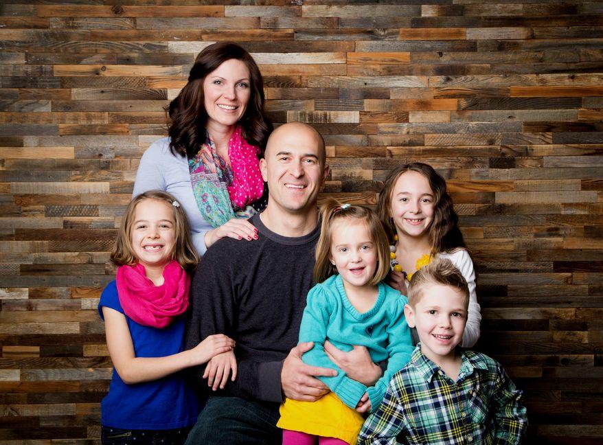 Eric Moutsos and his family. (Photo courtesy of Eric Moutsos)