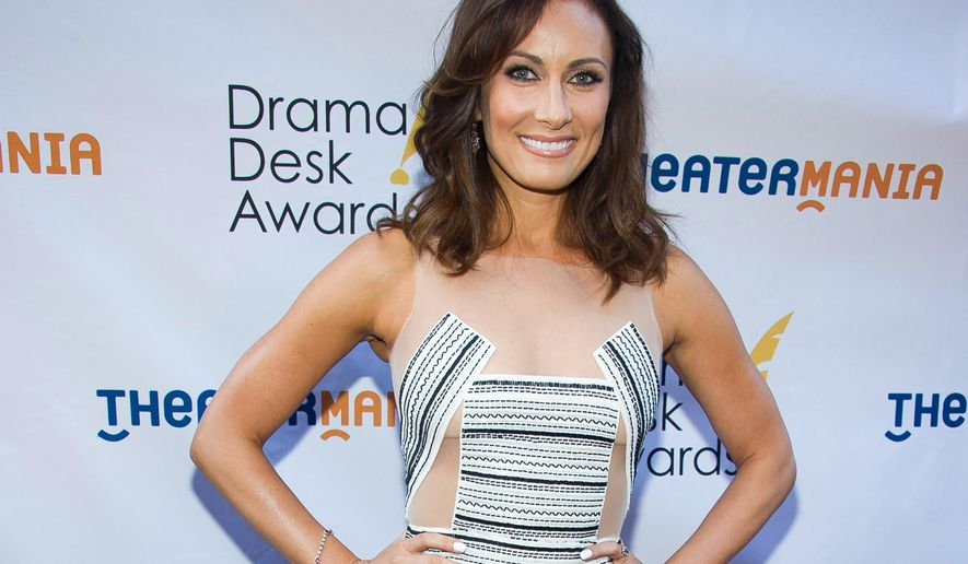 """FILE - In this June 1, 2014 file photo, Laura Benanti attends the Drama Desk Awards,  in New York. Benanti stars in """"a love letter to New York City"""" at Radio City Music Hall, in the """"New York Spring Spectacular"""" that starts on March 12, 2015. (Photo by Charles Sykes/Invision/AP, File)"""