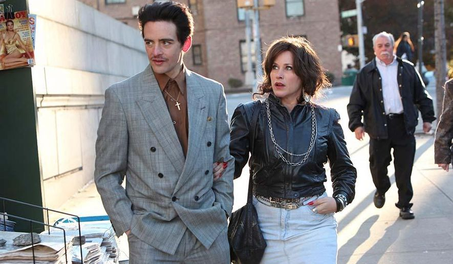 "This image released by the Tribeca Film Festival shows Vincent Piazza, left, and Patricia Arquette in a scene from the New York mafia drama, ""The Wannabe,"" which will premiere at the Tribeca Film Festival. The festival runs April 15-26. (AP Photo/Tribeca Film Festival, Thomas Concordia)"