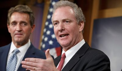 Rep. Chris Van Hollen, Maryland Democrat, has announced that he will campaign for the seat of Sen. Barbara A. Mikulski. (Associated Press)