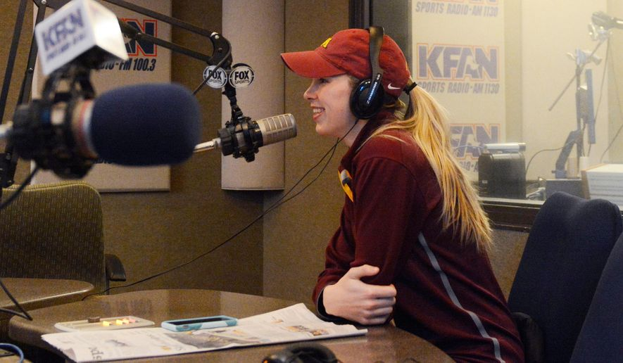 Minneapolis Car Dealers >> Women's hockey co-captain Rachel Ramsey fills listeners in on hockey-related news at KFAN Sports ...