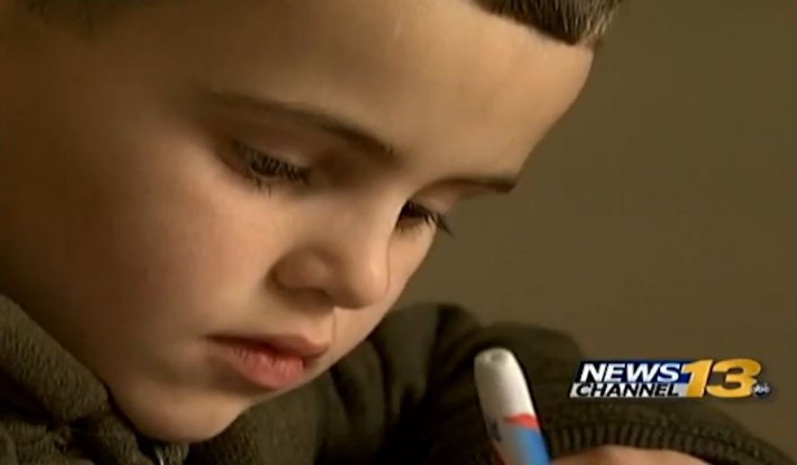 "A 6-year-old Colorado boy named Elijah was suspended from Stratton Meadows Elementary School in Colorado Springs on Monday after he pointed his finger in the shape of a gun at another classmate and said, ""You're dead."" (KRDO)"