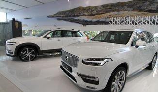 The 2016 Volvo XC 90 (Photo by Guillaume de Vaudrey)