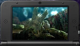 Fight an assortment of creatures in the 3DS game Monster Hunter 4 Ultimate. (Courtesy of Capcom)