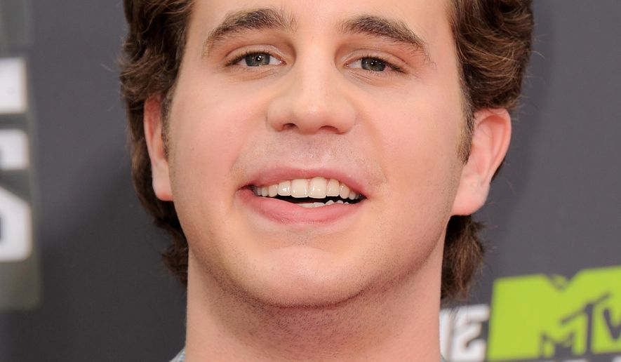 """FILE - In this April 14, 2013 file photo, Ben Platt arrives at the MTV Movie Awards in Sony Pictures Studio Lot in Culver City, Calif. Platt will star in the new musical """"Dear Evan Hansen"""" debuting this summer at Washington's Arean Stage. The theater announced casting plans Monday for the musical from composers Benj Pasek and Justin Paul and playwright Steven Levenson. Platt is best known for starring in """"Pitch Perfect"""" and will reprise his rope in """"Pitch Perfect 2"""" He recently made his Broadway debut in """"The Book of Mormon.""""  (Photo by Jordan Strauss/Invision/AP, File)"""
