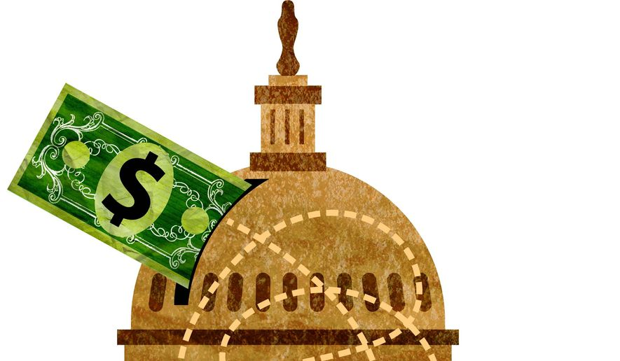 Government Waste Illustration by Greg Groesch/The Washington Times