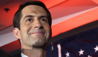 Sen. Tom Cotton, Arkansas Republican (Associated Press) **FILE**