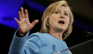 Hillary Rodham Clinton's silence has left fellow Democrats to field pointed questions, with some saying she needs to be more forthcoming, while others have wavered, saying they believe the issue has been stoked by Republicans eager to score political points on the presumptive front-runner for Democrats' 2016 presidential nomination. (Associated Press)