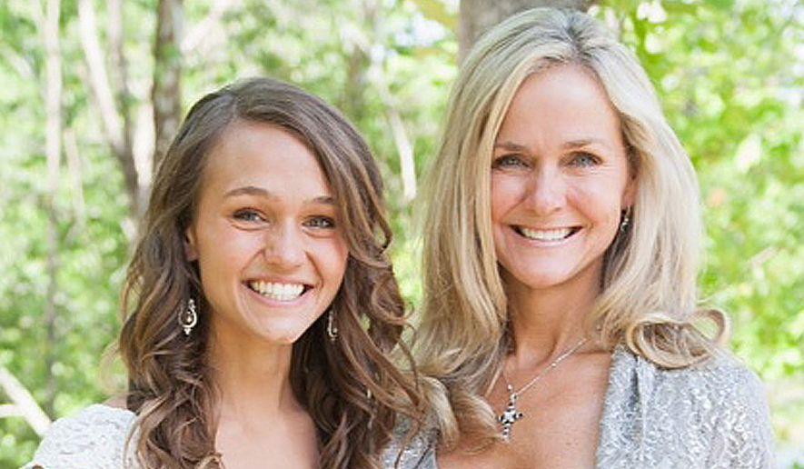 Rebecca Hagelin and her daughter, Kristin Carey.