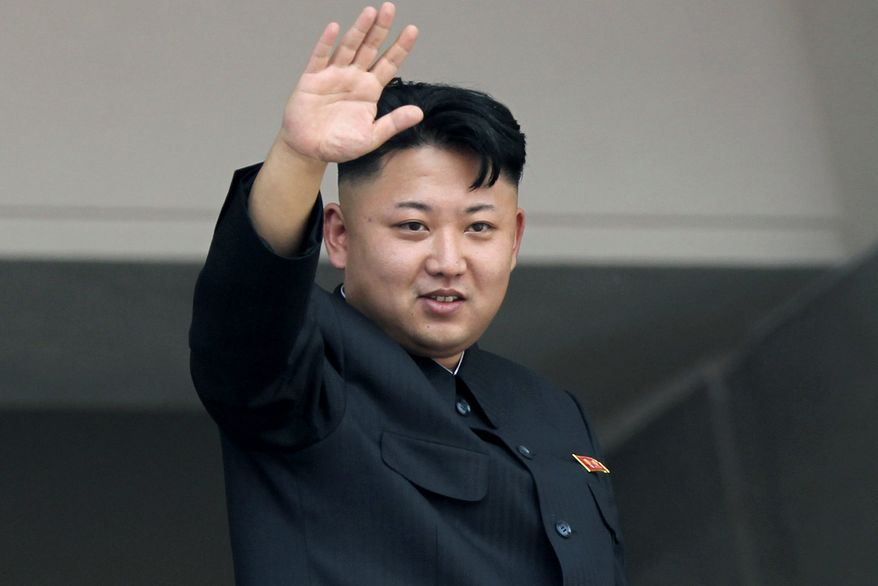 The North Korean dictator Kim Jong-un does not appear interested in holding sincere talks on giving up his nuclear arms. (Associated Press) **FILE**