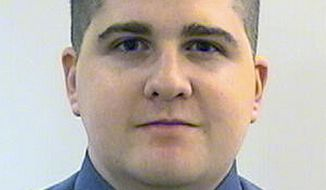 This undated file photo released by the Middlesex District Attorney's Office shows Massachusetts Institute of Technology Police Officer Sean Collier, of Somerville, Mass. Investigators said Collier was shot to death Thursday, April 18, 2013, on the school's campus in Cambridge, Mass., by Boston Marathon bombing suspects Tamerlan and Dzhokhar Tsarnaev in a botched attempt to obtain his gun several days after the twin explosions. (AP Photo/Middlesex District Attorney's Office, File)