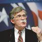Former U.N. Ambassador John Bolton. (Associated Press) ** FILE **