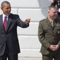 """Retired Marine Corps Gen. James """"Hoss"""" Cartwright, vice chairman of the Joint Chiefs of Staff and a close military adviser to President Obama, was reportedly the target of a Justice Department criminal investigation into leaks to The New York Times. (Associated Press)"""