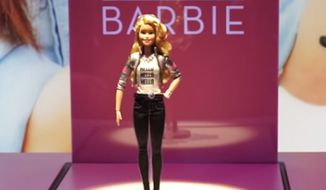 A new Barbie set to hit store shelves this fall has privacy advocates crying foul over its ability to record children's voices to a cloud-based server. (YouTube/Chip Chick)