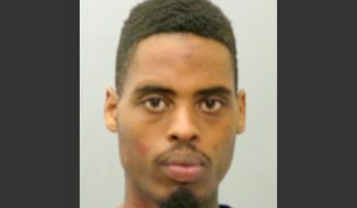 This photo provided by the St. Louis County Police Department on Sunday, March 15, 2015, shows Jeffrey Williams. Williams, 20, is charged with two counts of first-degree assault, one count of firing a weapon from a vehicle and three counts of armed criminal action in connection with the shooting of two police officers who were keeping watch over a demonstration outside the Ferguson Police Department on March 12. (AP Photo/St. Louis County Police Department)