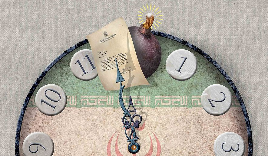 Slowing the nuclear clock Illustration by Greg Groesch/The Washington Times