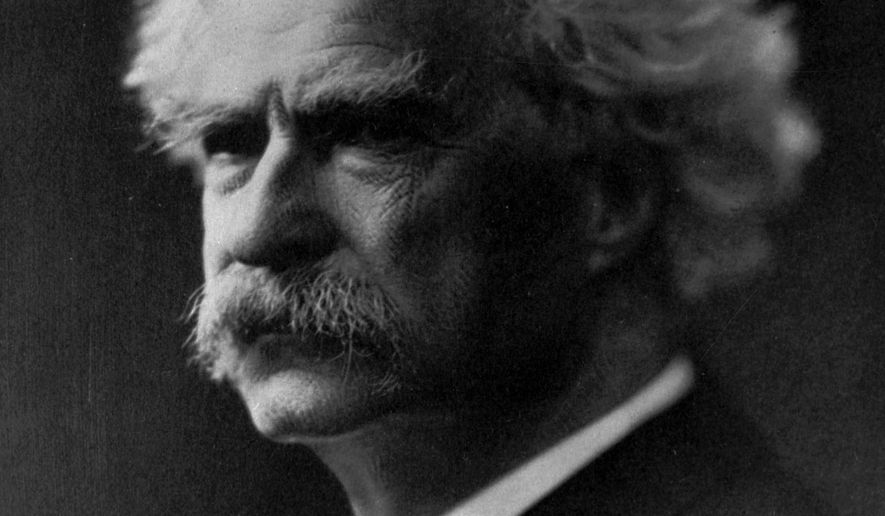 "This undated photo shows author Samuel Clemens, who wrote under the pen name ""Mark Twain."" The Territorial Enterprise, the historic Nevada newspaper where Twain cut his journalistic teeth, is back in publication for the first time in three decades, and its owners plan to uphold tradition by offering more than just real news. (AP Photo/File)"