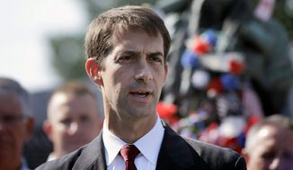 Sen. Tom Cotton. (Associated Press)