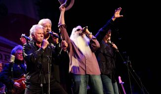 The Oak Ridge Boys have been playing to sold-out audiences for more than 40 years and plan to keep going. On Friday, they will be at The Birchmere in Alexandria. (Associated Press)