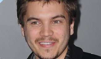 This April 20, 2011, file photo shows Emile Hirsch arriving to The T-Mobile Sidekick 4G Launch Party in Beverly Hills, Calif. (AP Photo/Katy Winn, File)
