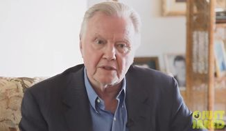 "Actor Jon Voight released an ""urgent message"" Sunday saying President Obama does not love Israel and seeks control over the Jewish state. (YouTube/Just Jared)"