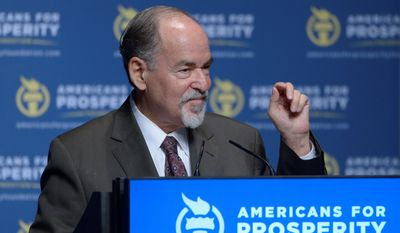 """Author and conservative activist David Horowitz says there is a """"disgusting"""" epidemic of anti-Semitism on campuses and that administrators are tolerating it. (Associated Press)"""