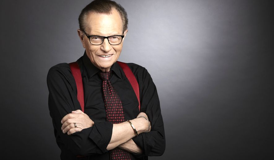 Veteran broadcaster Larry King will be feted at the Newseum for a career that has spanned decades. (Image courtesy of Larry King)
