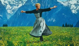 Julie Andrews is back on home entertainment screens in The Sound of Music: 50th Anniversary Ultimate Collector's Edition Blu-ray set. (Courtesy of 20th Century Fox Home Entertainment)