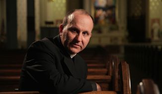 Courage: The Rev. Paul Check is the executive director of the Roman Catholic apostolate Courage. The pro-chastity ministry serves the needs of men and women who have homosexual attractions. (Source: Courage)