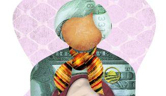Obama Minion Janet Yellen Illustration by Greg Groesch/The Washington Times