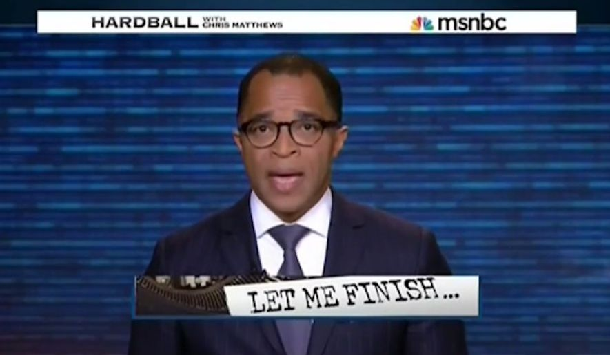 "Filling in for ""Hardball's"" Chris Matthews, Washington Post Jonathan Capehart told viewers Thursday night that he has faced an onslaught of racial attacks since his editorial this week debunked Ferguson's ""hands up, don't shoot"" narrative. (MSNBC via Mediaite)"