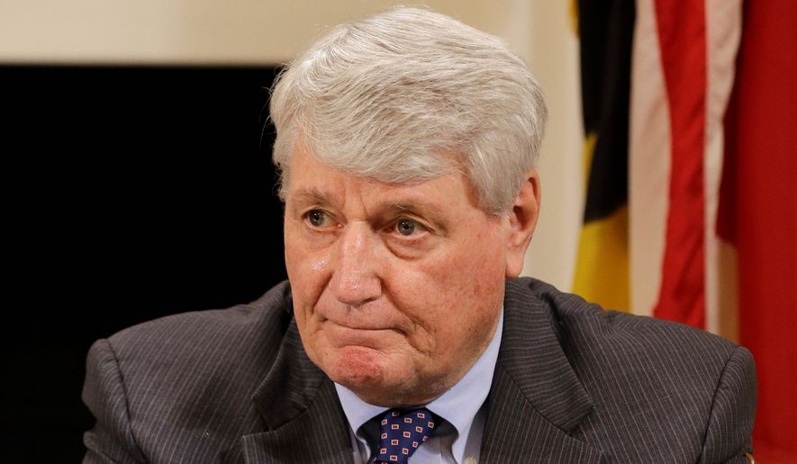 """Maryland House Speaker Michael Busch, Anne Arundel Democrat, said his chamber was """"open"""" to dealing with the Senate bill nixing the rain-tax mandate. (Associated Press)"""