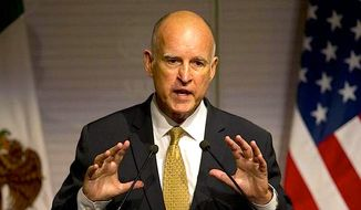 Gov. Jerry Brown on Sunday granted pardons to 83 people. An announcement by Brown's office said that each person has been out of state prison for at least 10 years and leads a productive life with no new criminal convictions. Most of them had been convicted of drug and robbery cases. (Associated Press)