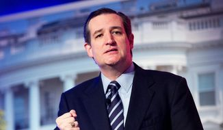 Sen. Ted Cruz, Texas Republican (Associated Press) **FILE**