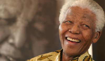 "In this Dec. 7, 2005 file photo, former South African President, Nelson Mandela, smiles at the Mandela Foundation in Johannesburg. The former political prisoner who became the country's first black president in 1994 died in December 2013 at the age of 95. Pan Macmillan said Tuesday, March 24, 2015, that it will publish the sequel to Mandela's best-selling autobiography ""Long Walk to Freedom"" in Britain, South Africa, India and Australasia in 2016. U.S. and Canadian rights have not yet been sold. (AP Photo/Denis Farrell)"