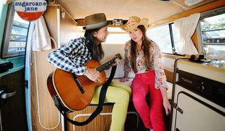 """Sugarcane Jane, known individually as Anthony Crawford and Savana Lee, just released the funky, frisky, up-tempo 10-track """"Dirt Road's End."""""""