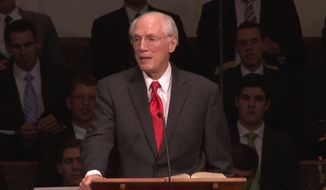 Former Bob Jones University President Bob Jones III is apologizing after nearly 2,000 people signed a petition demanding he take responsibility for anti-gay statements he made more than three decades ago. (YouTube/Faith for the Family)
