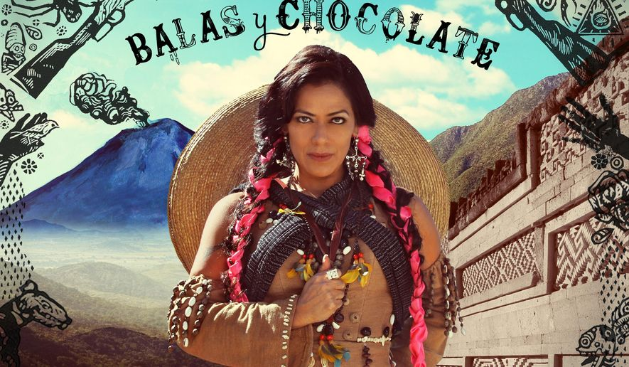 "This CD cover image released by Sony Music shows ""Balas y Chocolate,"" by Lila Downs. (AP Photo/Sony Music)"