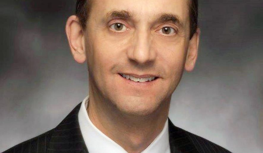 In this photo provided by Tim Brommel, is the official portrait of Missouri Auditor Tom Schweich. Schweich, a Republican candidate for governor, died Thursday Feb. 26, 2015 of a self-inflicted gunshot wound. (AP Photo/Missouri House of Representatives, Tim Bommel)