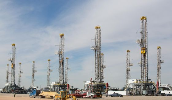 Oil-drilling rigs (AP Photo)