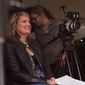 """Michigan filmmaker Amy S. Weber in the director's seat of her latest project, """"A Girl Like Her."""" Ms. Weber hopes to change the conversation about bullying by focusing not on superior force but rather on love."""