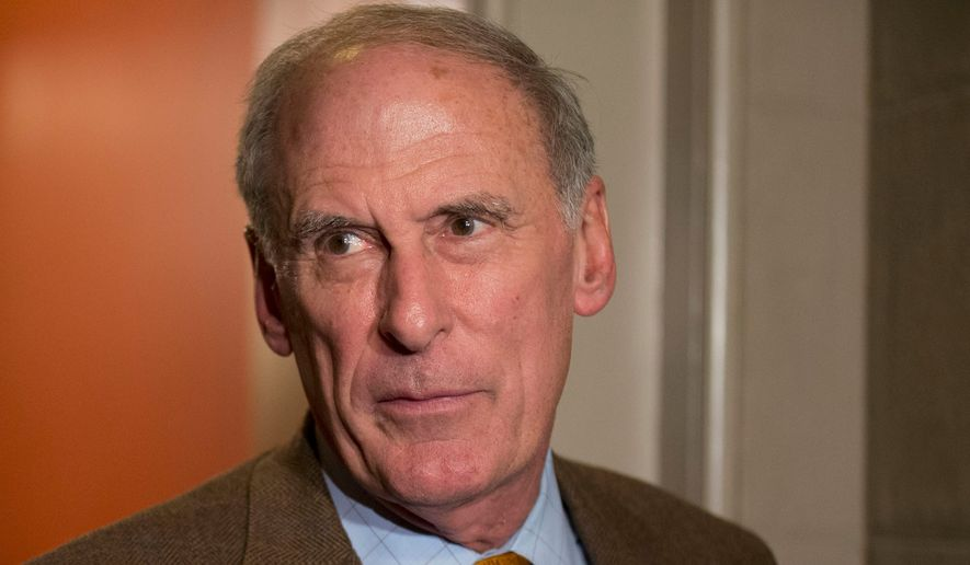 Sen. Dan Coats, Indiana Republican, said he doesn't want to be serving in the Senate when he is nearly 80 years old. Plenty of younger Republicans will be scrambling for his seat. (Associated Press)